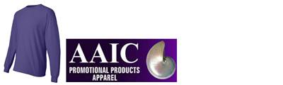 AAIC PROMOTIONAL PRODUCTS - Apparel