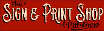 The Sign & Print Shop
