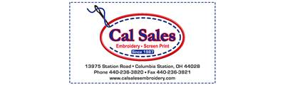 Cal Sales Embroidery & Screen Printing